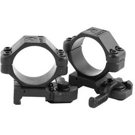 A.R.M.S. #22 Throw Lever 30mm Mil-spec/Picatinny Scope Rings - HIGH RINGS