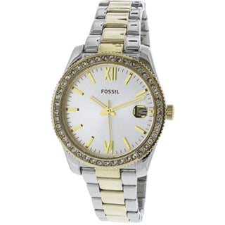 Fossil Women's Scarlette ES4319 Two-Tone Stainless-Steel Fashion Watch
