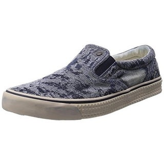 Diesel Mens Sub-Ways Plus Fashion Loafers Distressed Denim - 12 medium (d)