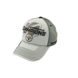 Reebok Mens Steelers Conference Champions 2010 Ball Cap - o/s