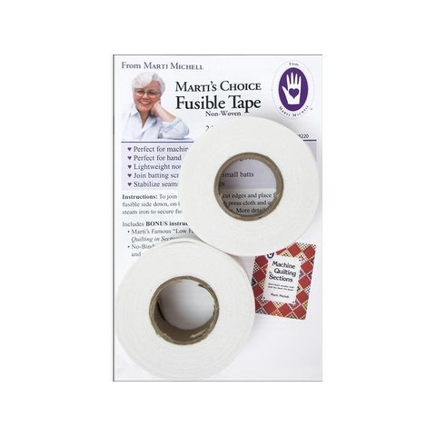 """Marti Michell Fusible Tape 1""""x 30yd 2 Rolls"""