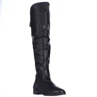 Rialto Firstrow Over The Knee Boots, Black (4 options available)