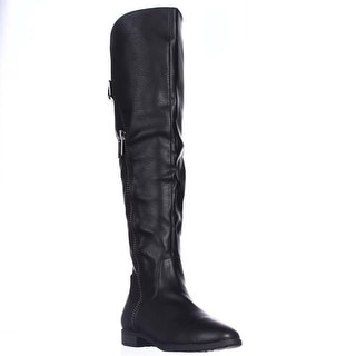 Rialto Firstrow Over The Knee Boots - Black