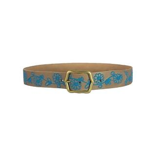 Noble Outfitters Belt Womens Annie Oakley Embroidered Floral 29523