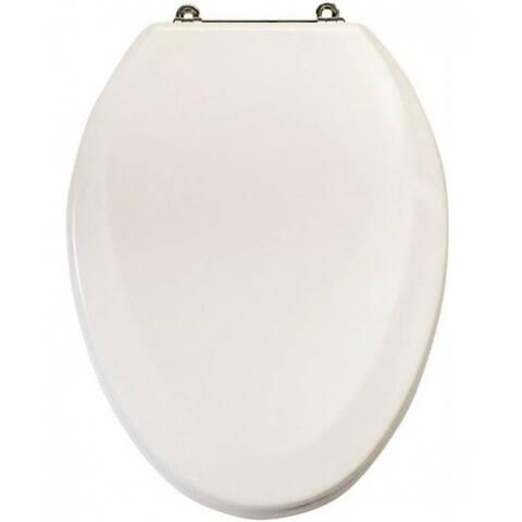 """Mintcraft T-19WMC Elongated Toilet Seat, 19"""", White"""