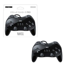 Nintendo Black Wired Classic Controller for Nintendo Wii
