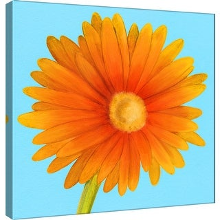 "PTM Images 9-100062  PTM Canvas Collection 12"" x 12"" - ""Flower Art 1"" Giclee Flowers Art Print on Canvas"