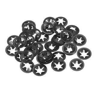 Starlock Washers , M6x16  Internal Tooth Clips Fasteners Kit , Pack of 50