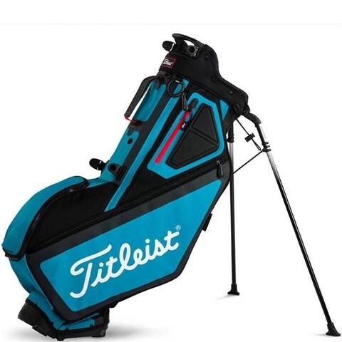 Titleist 72966 Players 5 Stand Golf Bag - Black, Breeze & Red