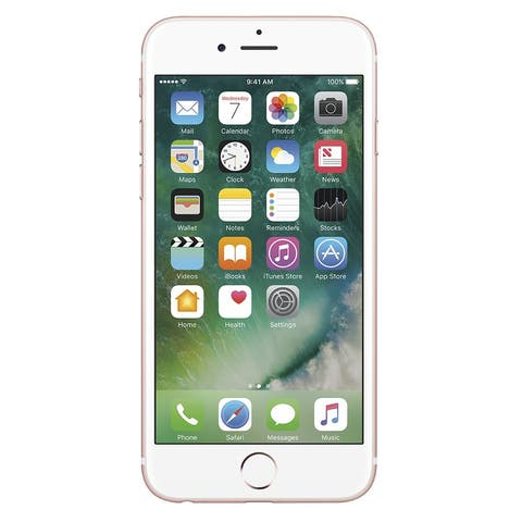 Apple iPhone 6s 64GB Unlocked GSM Phone w/ 12MP Camera - Rose Gold (Certified Refurbished)