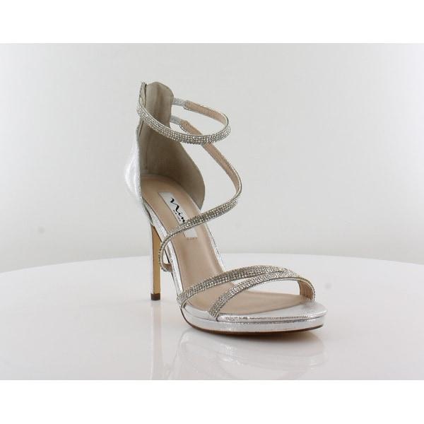 Nina Reed Women's Sandals Silver - 9