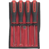 Gearwrench 84040 4-Piece Mini Hook & Pick Set
