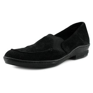 David Tate Stretchy SS Round Toe Suede Loafer|https://ak1.ostkcdn.com/images/products/is/images/direct/f6ccd2dd629d9a5ebb2b3db963accdca483d5df4/David-Tate-Stretchy-Women-SS-Round-Toe-Suede-Black-Loafer.jpg?impolicy=medium