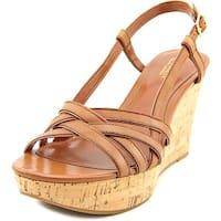 Lauren Ralph Lauren Quaylin Women Polo Tan Sandals