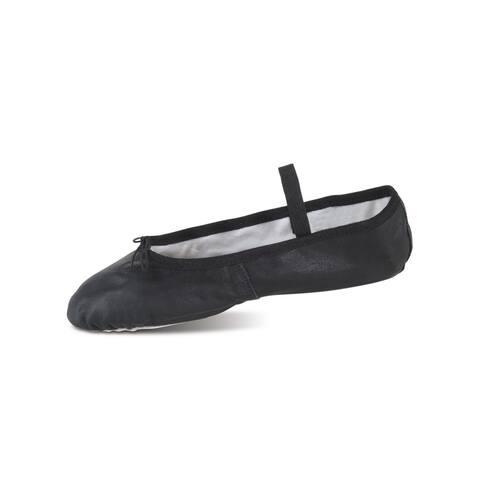 Danshuz Adult Black Deluxe Leather Dance Ballet Shoes