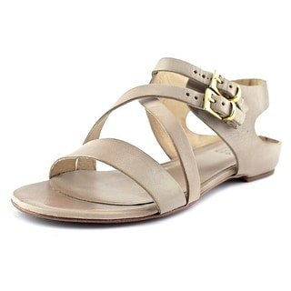 Target Mo Women Open Toe Leather Gray Gladiator Sandal