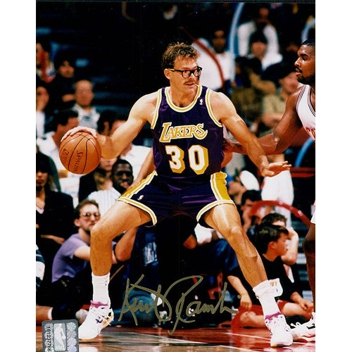 cf0ebfecb41 Shop Signed Rambis Kurt Los Angeles Lakers 8x10 Photo autographed - Free  Shipping Today - Overstock - 17690319