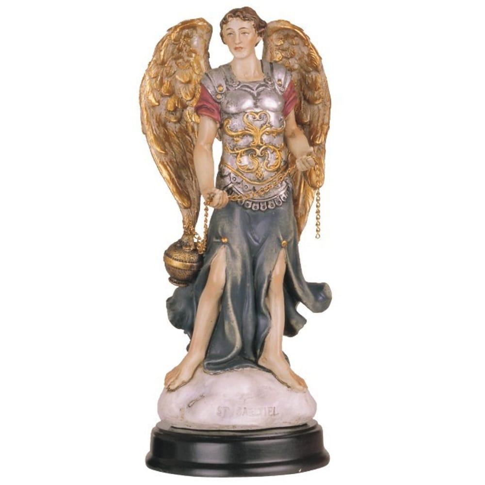 Q Max 5 H Archangel Sealtiel Statue Angel Of Prayer Holy Figurine Religious Decoration On Sale Overstock 32433441