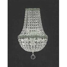 Swarovski Elements Crystal Trimmed Wall Sconce Empire Crystal Lighting