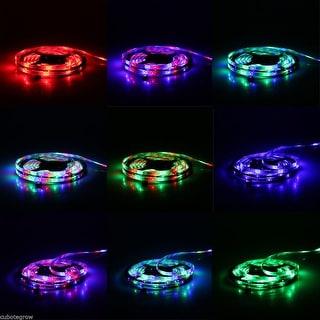 12V Color Changing Lamp 5M RGB 300LED SMD 3528 LED Flexible Strip Xmas Light US