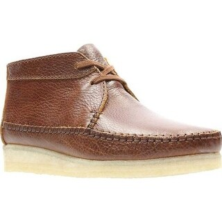Clarks Men's Weaver Boot Tan/Tan Full Grain Leather