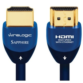 WireLogic WLCC2016 12 Feet 4K HDMI Cable - 2 Pack - Sapphire-NEW