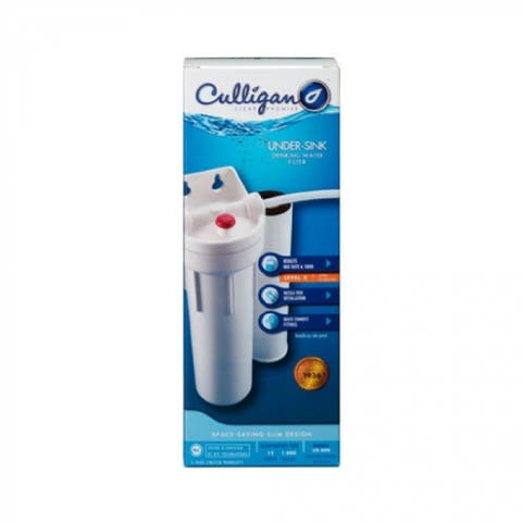 """Culligan US-600A Compact Undersink Drinking Water Filter, 3/8"""""""