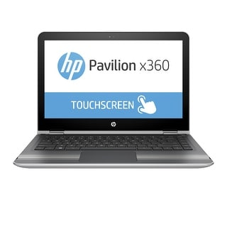 "Manufacturer Refurbished - HP Pavilion x360 13-u100ca 13.3""Touch Laptop Intel N3710 1.6GHz 8GB 500GB W10"