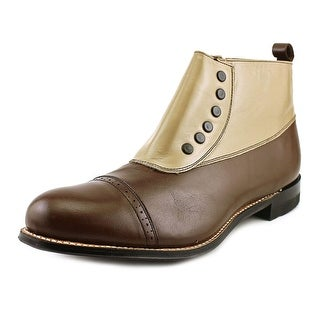 Stacy Adams Madison Cap Toe 2E Cap Toe Leather Chukka Boot
