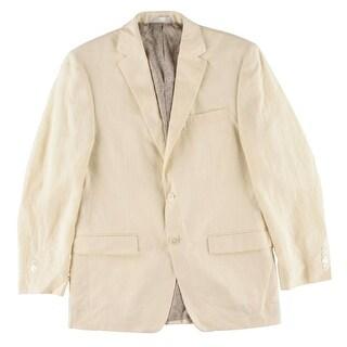Lauren Ralph Lauren Mens Blazer Tweed Button Closure - 38r