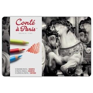 Conte - Cont� Pastel Pencil Set - 48-Color Set