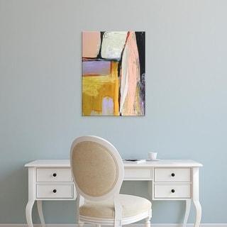 Easy Art Prints Jodi Fuchs's 'Walking Through I' Premium Canvas Art