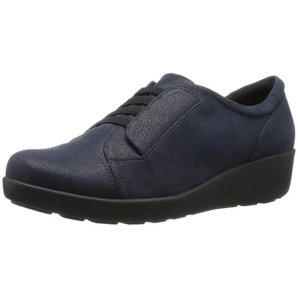 Easy Spirit Womens KANDANCE Fabric Low Top Slip On Walking Shoes