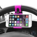 Insten Universal Car Steering Wheel Phone Holder in Assorted Colors - Thumbnail 8