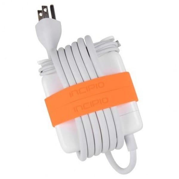 Incipio Block Bands for 45W Power Adapter for MacBook Air 11''/13'' (Neon Orange