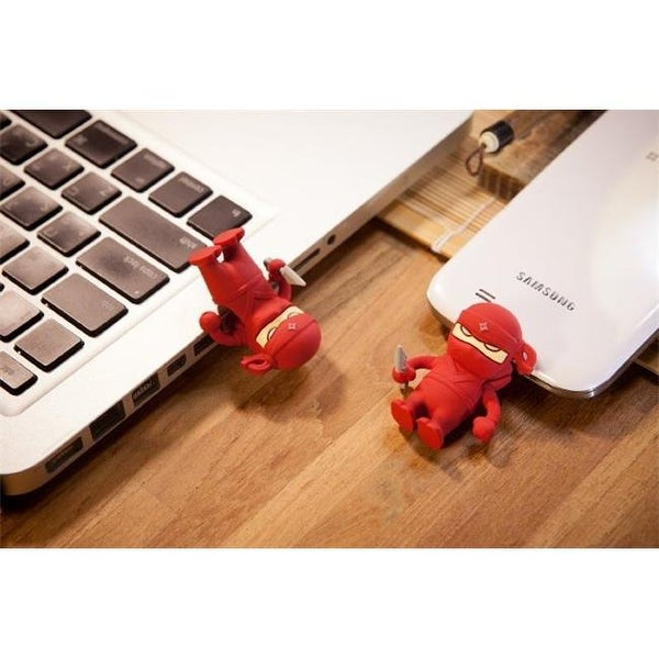 Bone Collection D14071R 16 GB Red Ninja Dual USB Driver