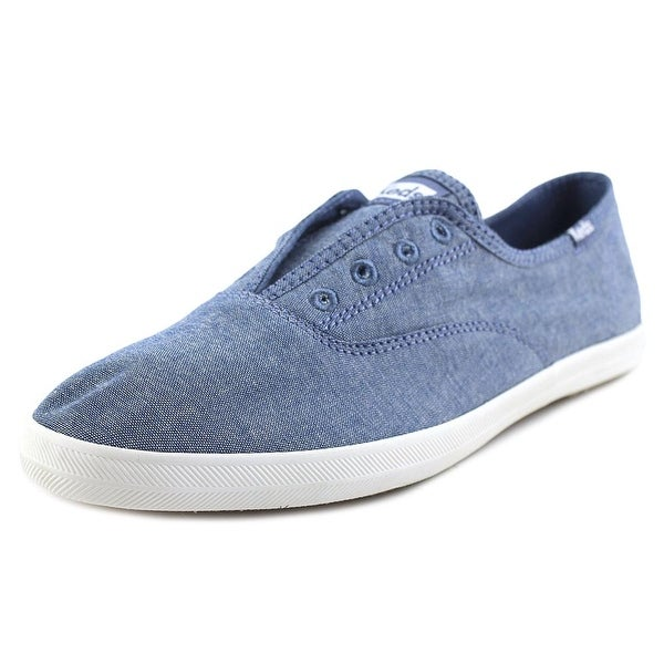 db67c7b695a6f Shop Keds Chillax Women Round Toe Canvas Blue Sneakers - Free ...
