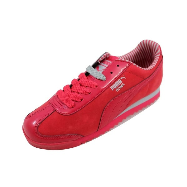 419485095880 Shop Puma Women s Roma NBK Patent Geranium Gray Violet nan 359298 03 ...