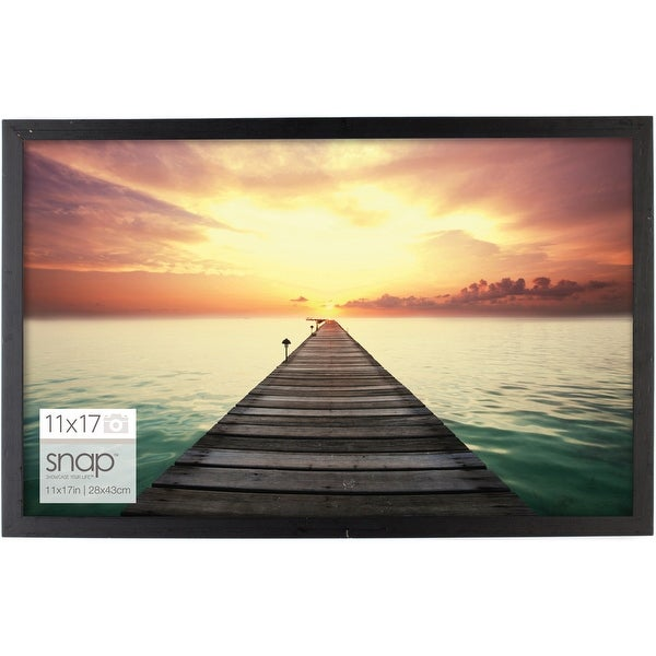 "Snap Picture Frame 11""x17""-Black"