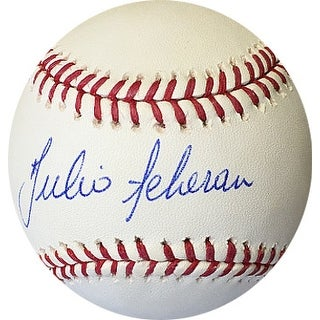 Julio Teheran signed Rawlings Official Major League Baseball (Atlanta Braves)