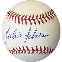 Julio Teheran signed Rawlings Official Major League Baseball Atlanta Braves