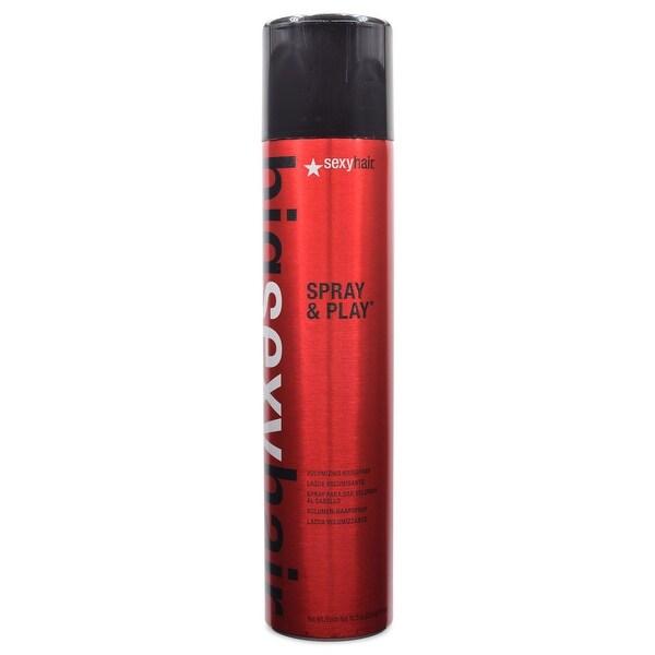 Sexy Big Sexy Hair Spray and Play Volumizing Hairspray 10.0 Oz