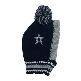 Dallas Cowboys Pet Knit Hat - Small