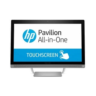 "Refurbished - HP Pavilion 24-B227C 23.8"" Touch AIO Desktop Intel i5-7400T 2.4GHz 12GB 1TB W10"