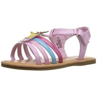 Rugged Bear Girls Embellished Patent Flat Sandals - 9 medium (b,m)