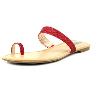INC International Concepts Mikoeh Open Toe Canvas Flip Flop Sandal