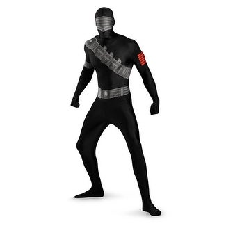 mens snake eyes bodysuit halloween costume xl 42 46 xl 42 46