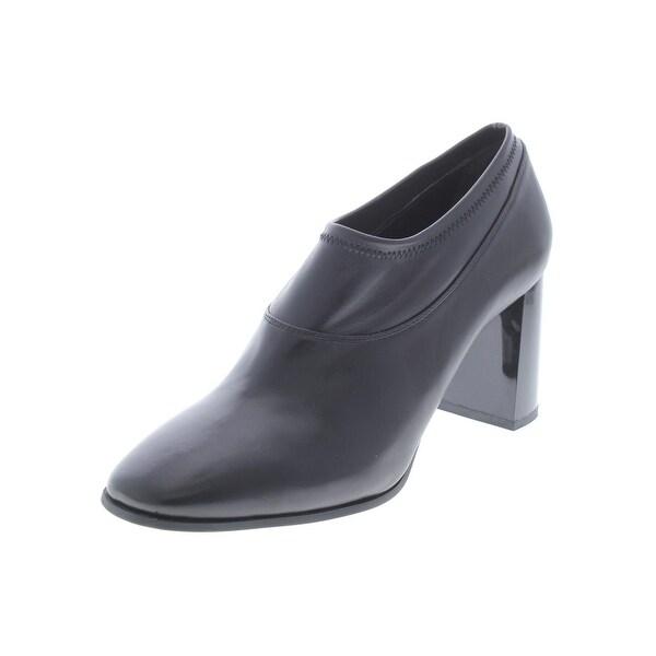 24eb0a60e25c Shop DKNY Womens Sade Booties Leather Block Heel - Free Shipping ...