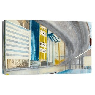 """PTM Images 9-101905  PTM Canvas Collection 8"""" x 10"""" - """"Overpass 2"""" Giclee Buildings and Cityscape Art Print on Canvas"""