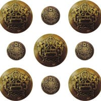 Ken Oliver Vintage Embellishments-Ornate Buttons